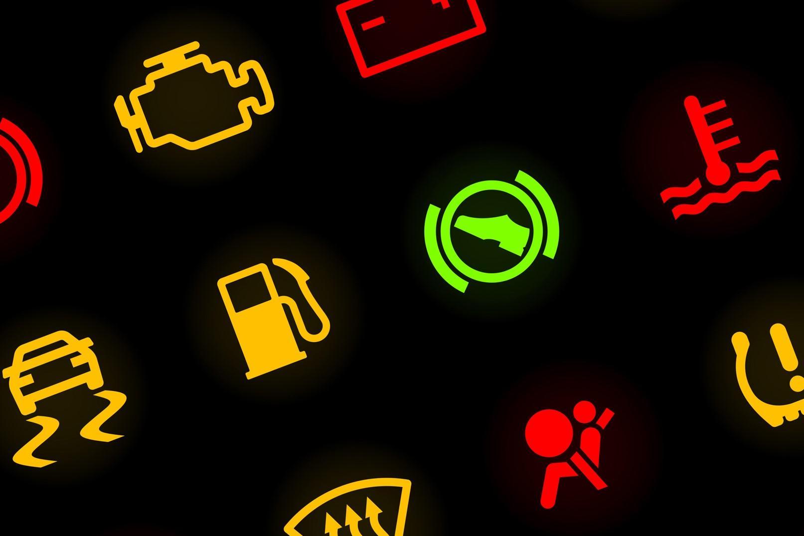 Conheça o significado das luzes do painel do carro